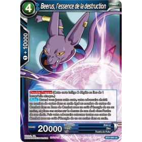 Beerus, l'essence de la destruction BT2-046 UC