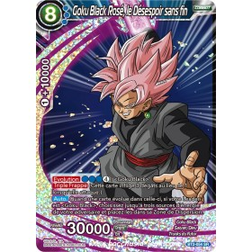 Goku Black Rose, le Desespoir sans fin BT2-054 SR