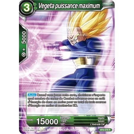 Vegeta puissance maximum BT2-076 R