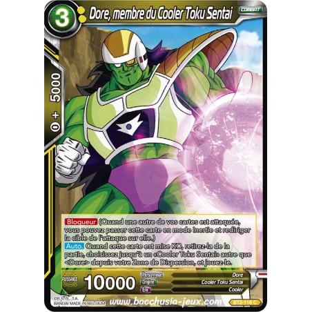 Dore, membre du Cooler Toku Sentai BT2-116 C