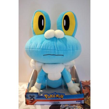 Pokemon peluche Grenousse 36 cm TOMY