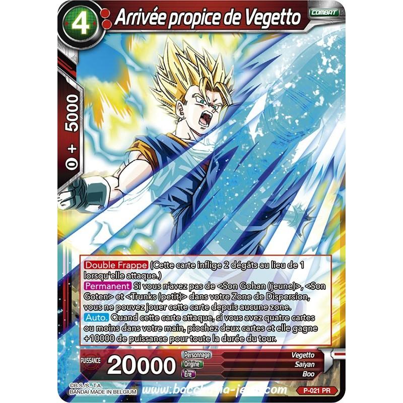 Arrive propice de Vegetto P-021 PR