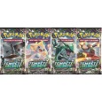 Pokemon Lot de 4 boosters SL7 Tempete Celeste
