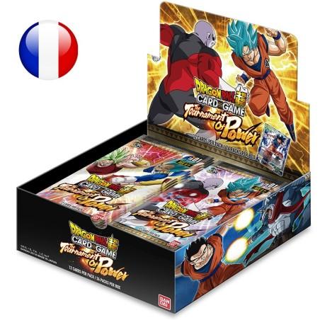 Dragon Ball Super - Boite de 24 Boosters Français - Theme Boosters serie 1 - Le Tournoi du Pouvoir