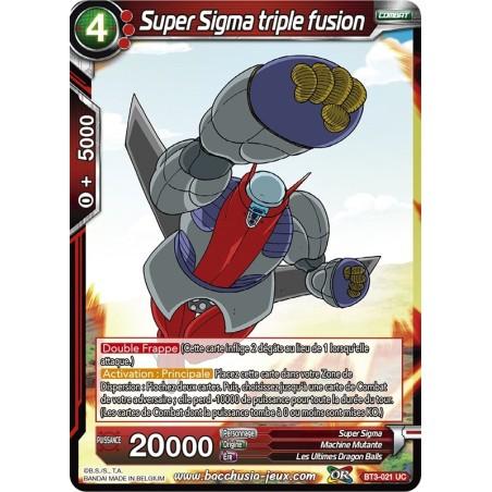 Super Sigma triple fusion BT3-021 UC Foil (Brillante)