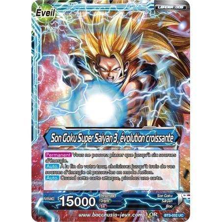 Son Goku Super Saiyan 3, évolution croissante BT3-032 UC