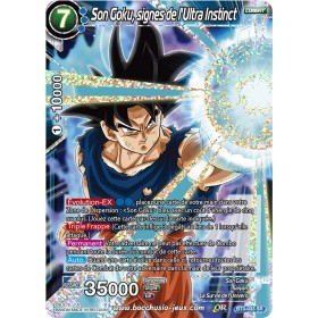 Son Goku, secrets profonds – signes BT3-033 SR