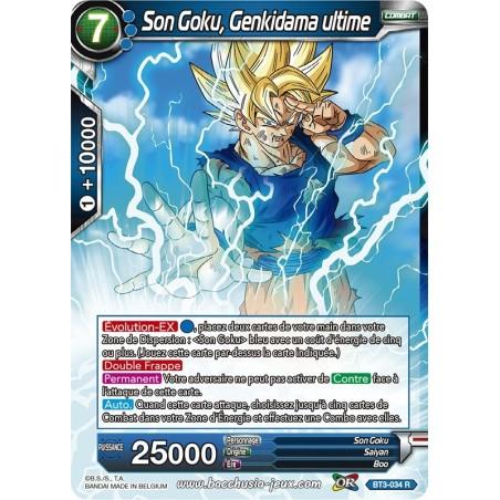Son Goku, Genkidama ultime BT3-034 R