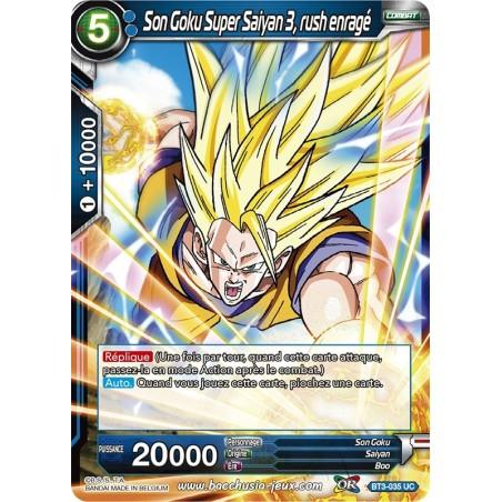 Son Goku Super Saiyan 3, rush enragé BT3-035 UC Foil (Brillante)