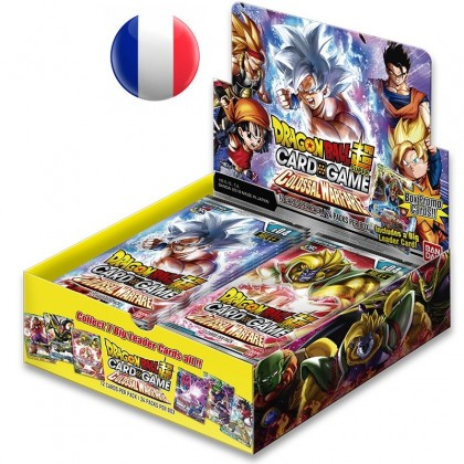 Dragon Ball Super - Boite de 24 Boosters Français - Serie 4 - Colossal Warfare