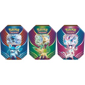 "Pokemon 3 Pokebox Givrali GX+ Nymphali GX + Phyllali GX ""Evolution Celebration"""