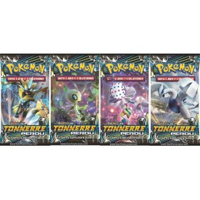 Pokemon Lot de 4 boosters SL8 Tonnerre Perdu