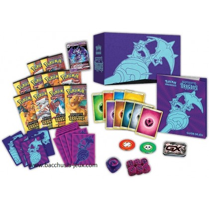 Pokemon Coffret Majeste des Dragons SL7.5 - Elite Trainer Box Mandrillon