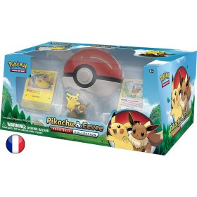 "Coffret Pokemon ""Pikachu et Evoli PokeBall Collection"""