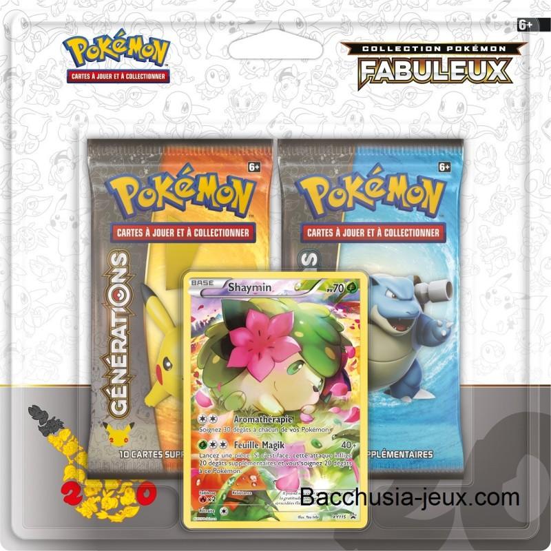 Duopack Generation Shaymin Collection Pokémon fabuleux 20 ans