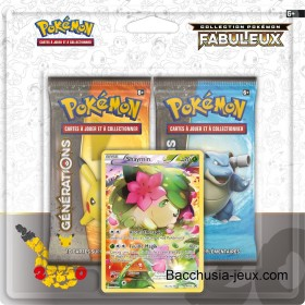 Duopack Generation Shaymin Collection Pokémon fabuleux 20 ans