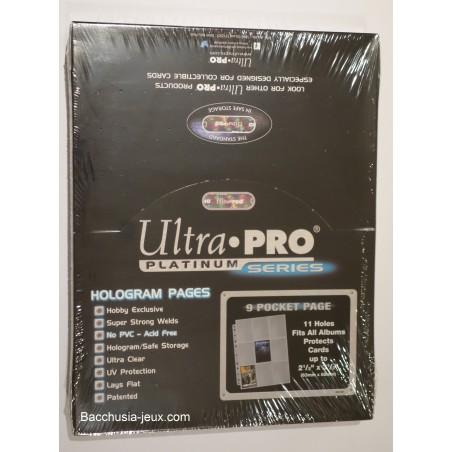 Ultra Pro Feuilles de classeur Platinum x 100