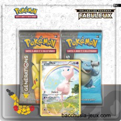 Duopack Generation Mew Collection Pokémon fabuleux 20 ans