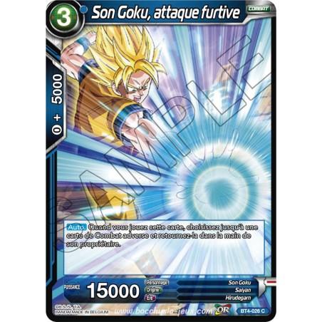 BT4-026 C Son Goku, attaque furtive