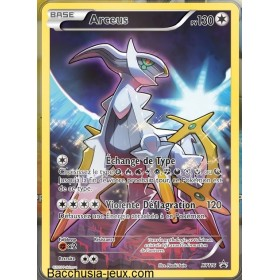 Carte Arceus XY116 Collection pokémon fabuleux