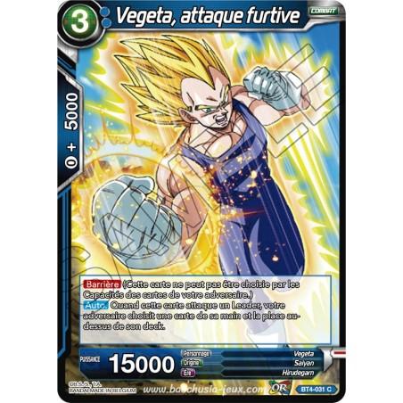 BT4-031 C Vegeta, attaque furtive