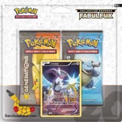 Duopack Generation Arceus Collection Pokémon fabuleux 20 ans