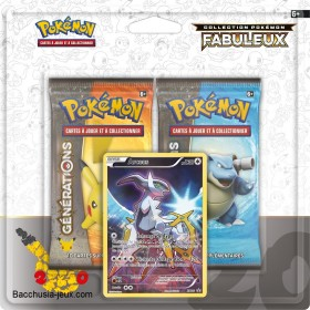 Duopack Generation Arceus Collection Pokémon fabuleux 20 ans