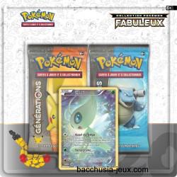Duopack Generation Celebi Collection Pokémon Fabuleux 20 ans