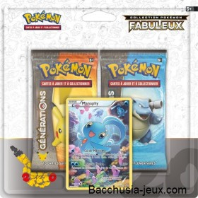 Duopack Generation Manaphy Collection Pokémon fabuleux 20 ans