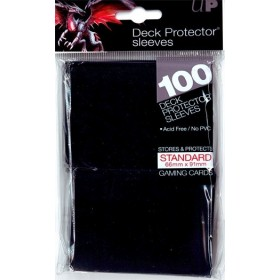 Ultra Pro Deck Protector Sleeves noir x100