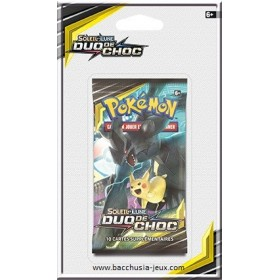 Pokemon Booster sous blister SL9 Duo de Choc