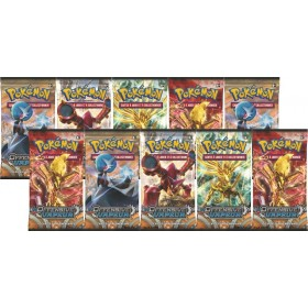 Pokémon Lot de 10 boosters XY11 Offensive Vapeur