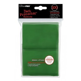 Ultra Pro Deck Protector Sleeves vert x100