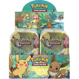 1 Display de 10 Kanto Friends Mini Tin