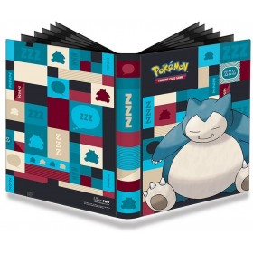 Pokemon Ronflex Pro-Binder 9 Cases 20 Pages - 360 cartes