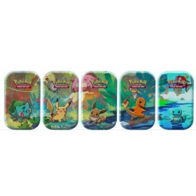 5 Kanto Friends Mini Tin