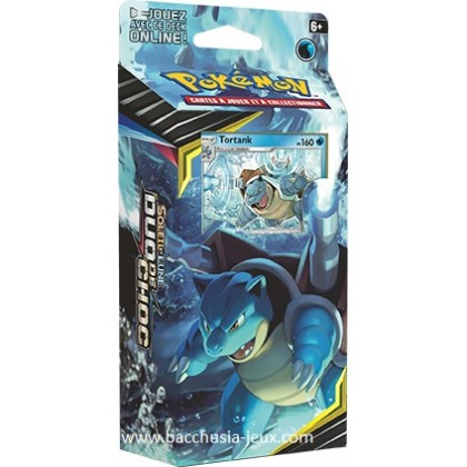 Pokemon Deck Tortank SL09 Duo de Choc