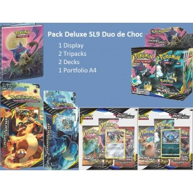 Pokemon Pack Deluxe SL9 Duo de Choc
