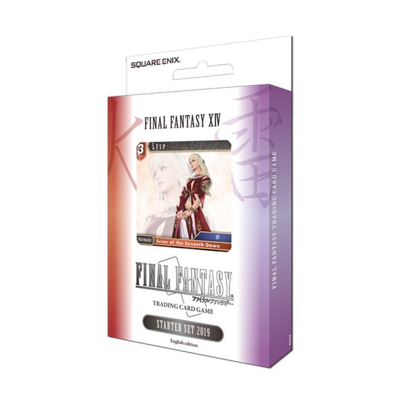 Final Fantasy TCG Starter FFXIV Fire/Ligthning