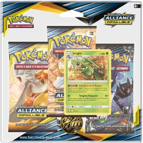 Pokemon Tripack SL10 Alliance Infaillible - Jungko