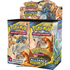 Pokemon Display SL10 Alliance Infaillible (36 boosters)