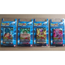 Dragon Ball Super - 4 Boosters sous Blister B01 - Galactic Battle