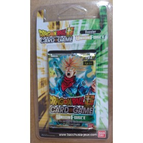 Dragon Ball Super - 1 Booster blister B02 - Union Force