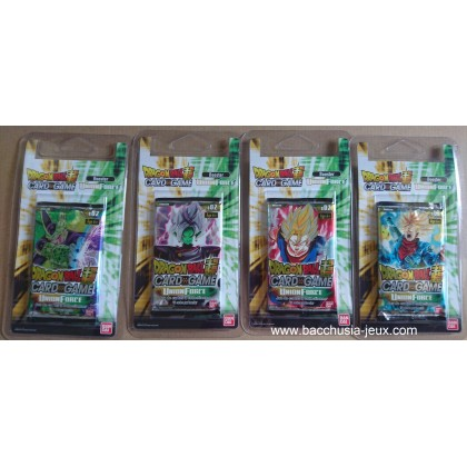 Dragon Ball Super - 4 Boosters sous Blister B02 - Union Force