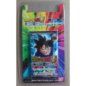 Dragon Ball Super - 1 Booster blister B03 - Les Mondes Croisés