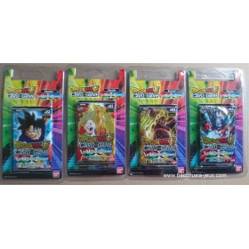 Dragon Ball Super - 4 Boosters sous Blister B03 - Les Mondes Croisés