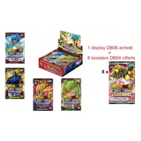 Dragon Ball Super - Display boite de 24 Boosters Français - Serie 6 - Destroyer Kings
