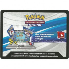 Pikachu EX coffret Collection Légendaire - Code Online