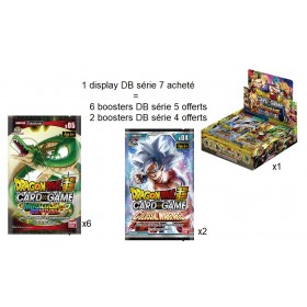 Dragon Ball Super - Boite de 24 Boosters Français - Serie 7 - Assault Of The Saiyans