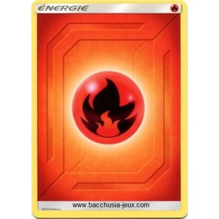 10 Cartes Pokémon Energie Feu série 2